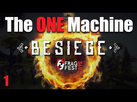 Let's Play | Besiege - The ONE Machine - Part 1