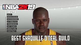 Wie Zu Erstellen, Shaquille O 'Neal In der NBA 2K19 | Beste Shaquille O' Neal zu Bauen, die In der NBA 2K19