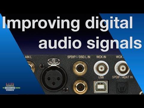 Improving digital audio signals