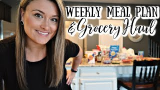WEEKLY MEAL PLAN & GROCERY HAUL | Cook Clean And Repeat
