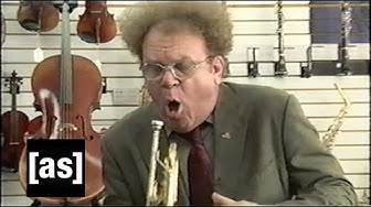 Music Store | Check It Out! With Dr. Steve Brule | adult swim