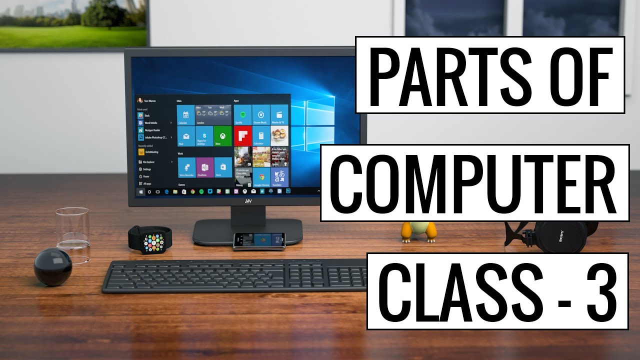 Input Devices of Computer & Types Of Input Devices (Urdu/Hindi)
