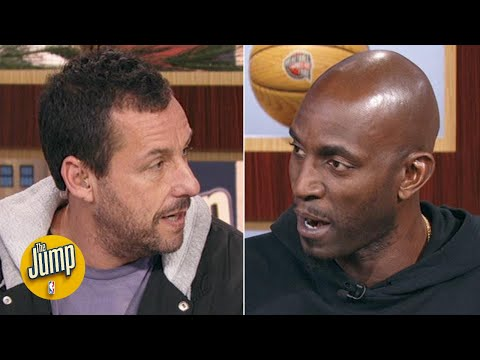 Kevin Garnett and Adam Sandler explain how KG got such a big role in 'Uncut Gems' | The Jump