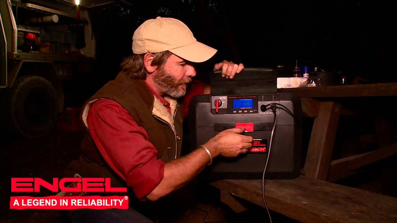 Graham Cahill Tests Engel Smart Battery Box Youtube Wiring Diagram Fridge