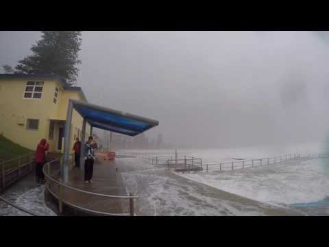 Dee Why Beach Storm Surge June 2016