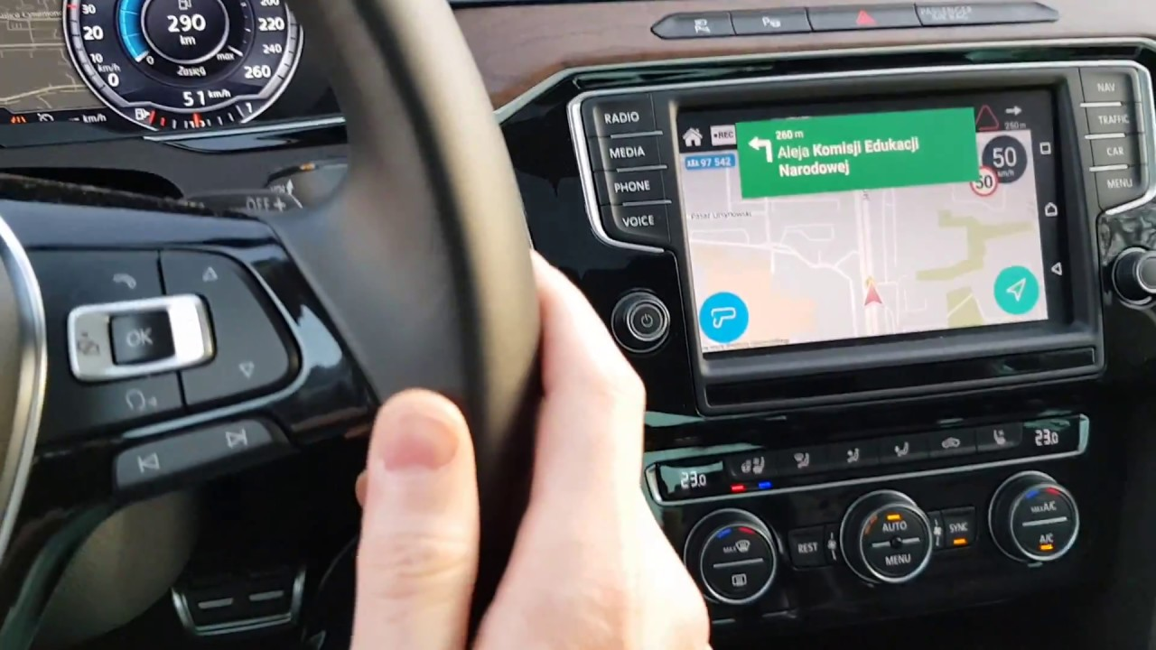 Ultimate working in motion - MirrorLink VW Passat B8 Discover Pro