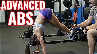 Advanced Ab Exercises for Men & Women (with & without equipment)