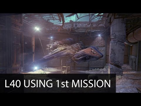 Destiny player hits level 40 without leaving the tutorial mission