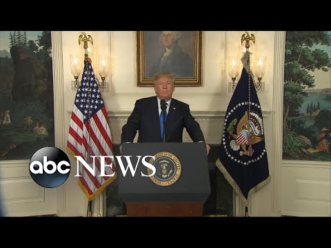Trump threatens to 'decertify' the Iran Nuclear agreement