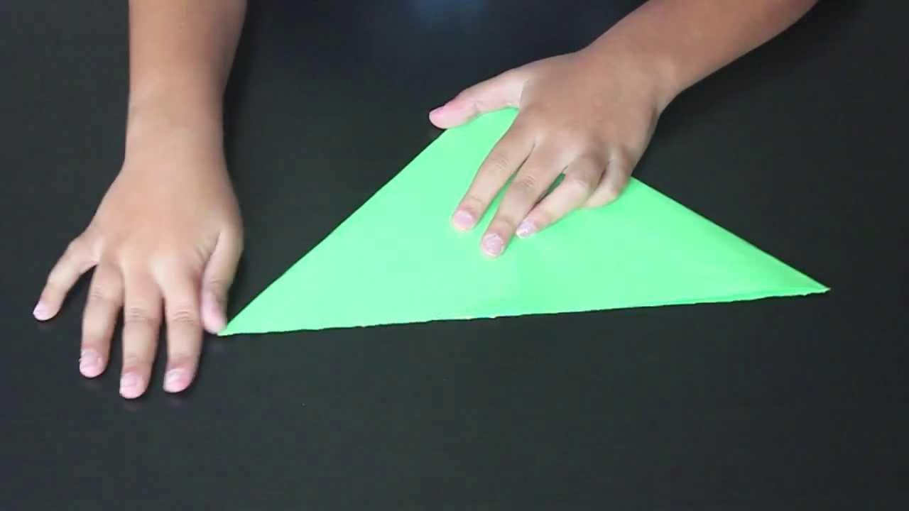 Origami - Como hacer una rana de papel - YouTube