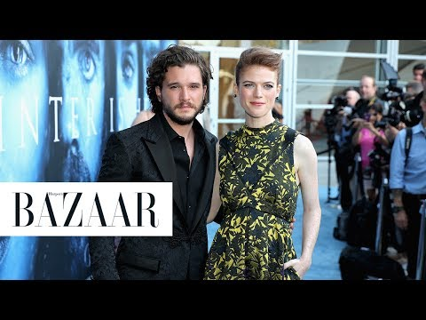 Kit Harington and Rose Leslies Adorable Love Story