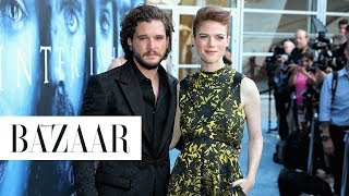 Kit Harington and Rose Leslie's Adorable Love Story