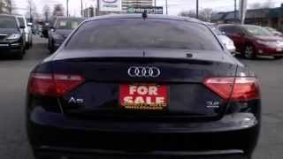 2009 Audi A5 3.2 Quattro Navigation Rear Cam Panoramic Roof Coupe  Call Now     1 (866) 980-4721