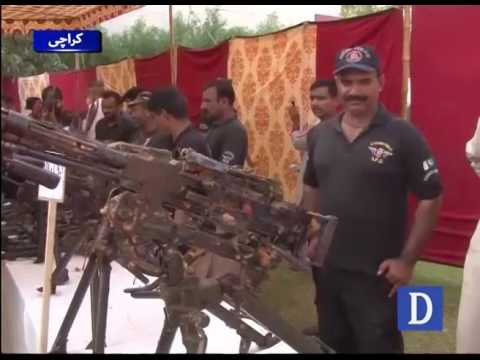 Nato weapons recovered from house in Karachi's Azizabad