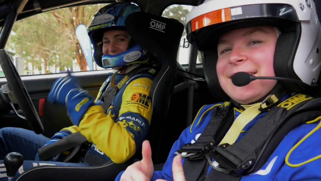 subaru wrx Rally car driven hard - molly taylor GayCarBoys