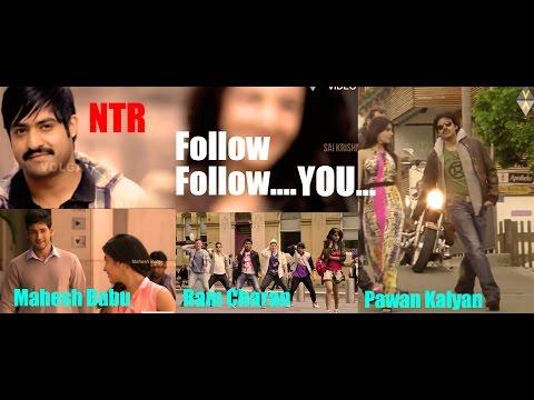 Follow Follow Full VideoSong( Mash Up ) Nannaku Prematho | Jr | DSP | Rakul Preet