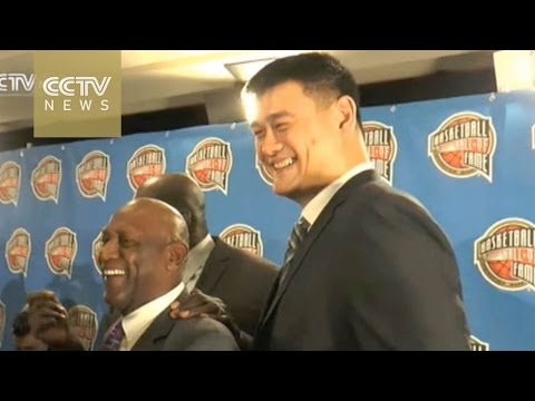 Yao Ming nominated for the Basketball Hall of Fame