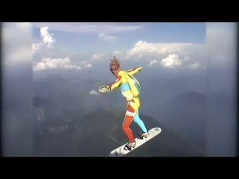 SKYSURF Boards Over Europe / The Best Performance In Skysurfing (HD-4:3)