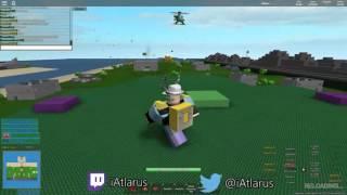 ROBLOX: Base Wars [Clip] - JUMPING GLITCH WTF!!!