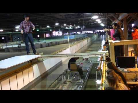ERDC Chicago Sanitary and Ship Canal model
