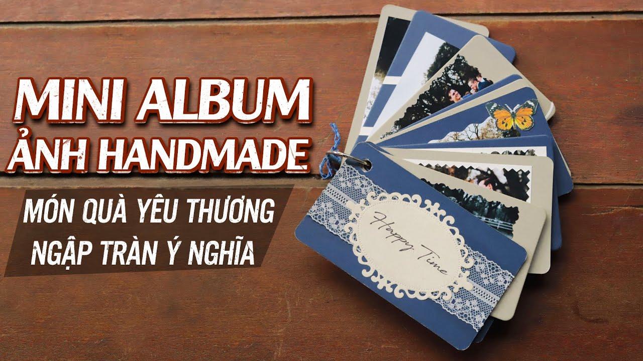 Album Ảnh Mini Handmade | Quà Tặng Noel, Sinh Nhật Ý Nghĩa