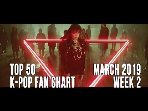 Top 50 K-Pop Songs Chart - March 2019 Week 2 Fan Chart Mp3