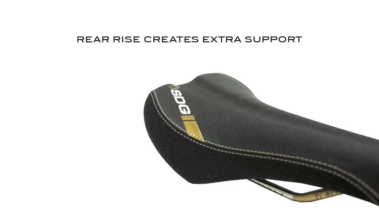 The 2014 Bel Air Saddle From Sdg Components Bike Seat Youtube