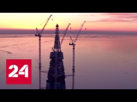 87 этажей над Балтикой: шпиль
