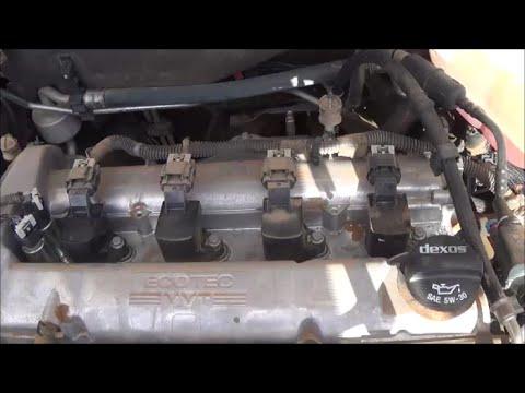 20082012 Chevrolet Malibu 24L (LE5) spark plug change