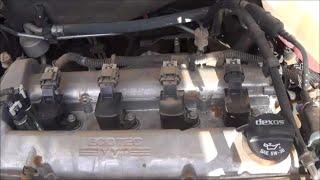 2008-2012 Chevrolet Malibu 2.4L spark plug change