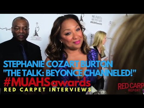 Stephanie Cozart Burton TheTalk Beyonce at the 2016 MUAHSawards