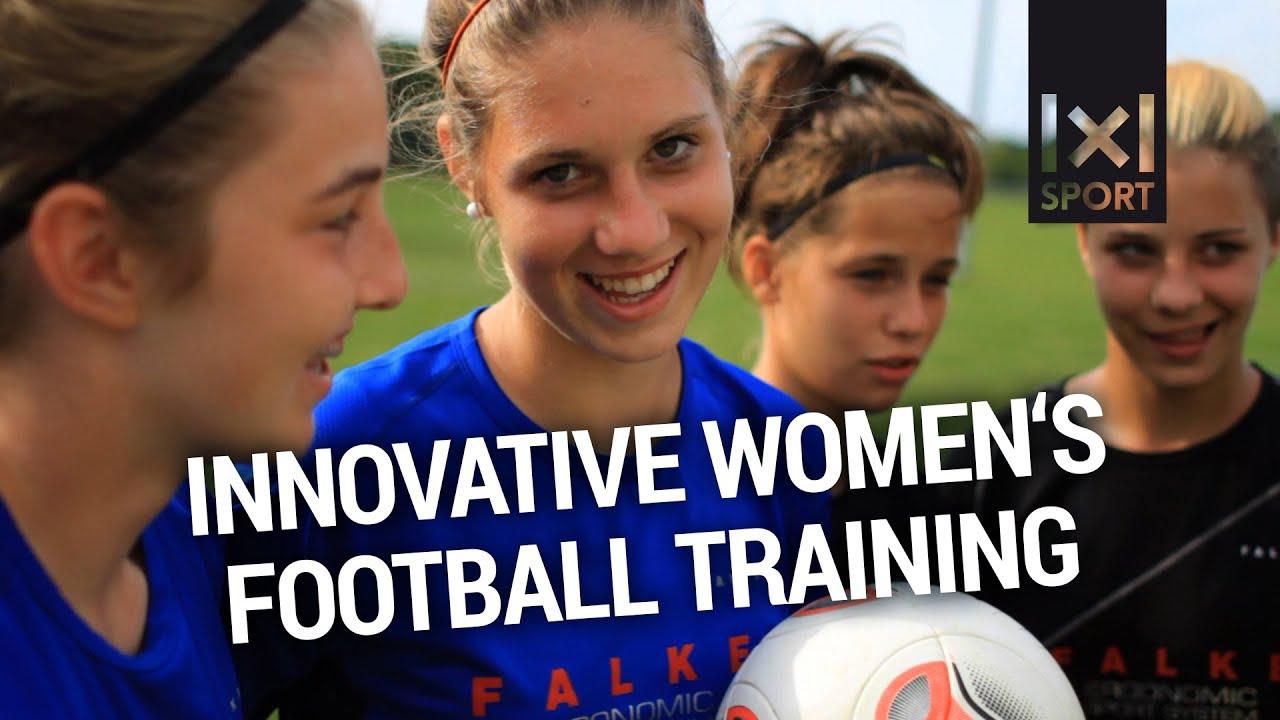 Innovative Women s Football  Soccer Training  TRAILER  - YouTube e90211f855