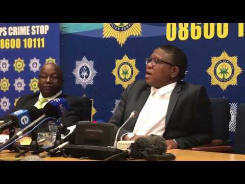 South Africa Minister Mbalula Says Zimbabwean Soldiers Are Busy Robbing Banks