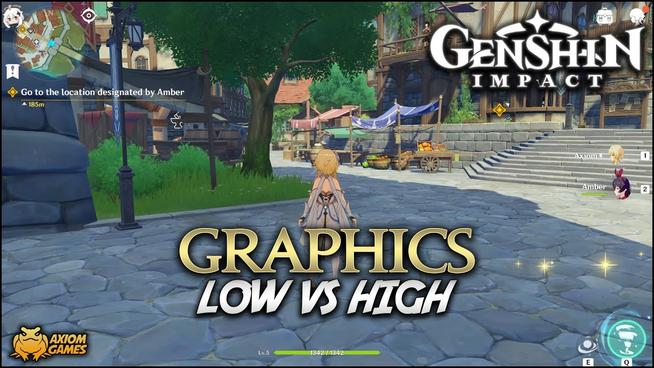 Genshin Impact Pc Low Vs High Graphics Youtube