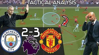 Mourinho\'s 2nd Half Comeback Win vs Pep EXPLAINED: Manchester City 2-3 Man United - Tactics Analysis