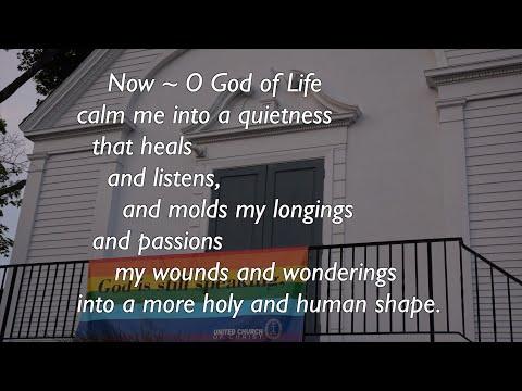 Seekonk Congregation Church, UCC Worship Service, The Fourth Sunday Of Lent, Mar. 21, 2020.