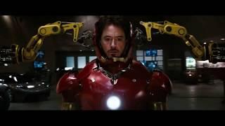 Тони Старк надевает костюм железного человека Mark 3. Железный человек(2008)