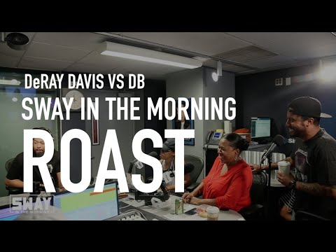 DeRay Davis and DB Roast Each Other on Sway in the Morning