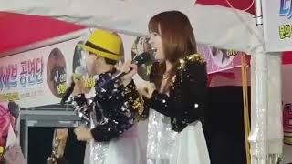 가수장소미 , 윤서원 / 수리수리술술 원곡:서지오   제64회백제문화제원조먹거리시장살리기축하공연