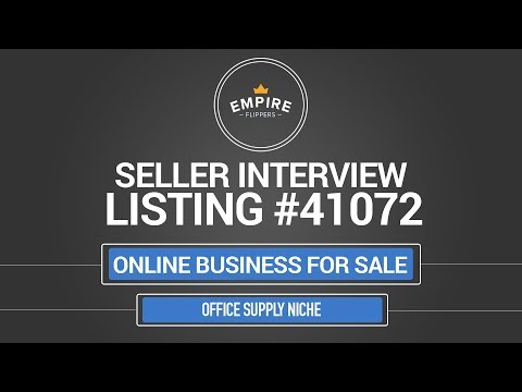 Online Business For Sale - $6.2K/month in the Office Supply Niche
