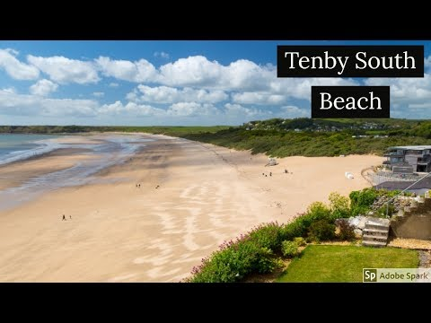 Travel Guide Tenby South Beach Pembrokeshire South Wales UK Review