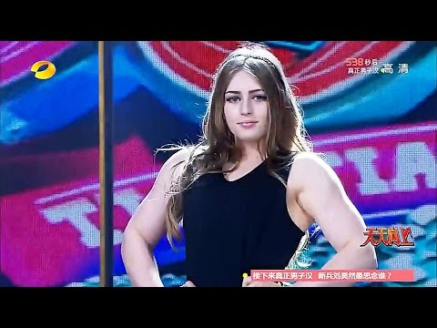 Julia Vins @ TV Show ( Who is the real man )【Highlights】