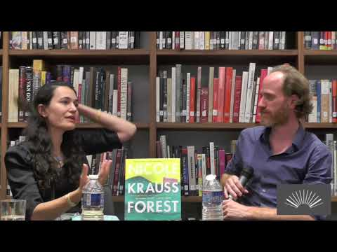 Nicole Krauss @ The American Library in Paris | 3 September 2017