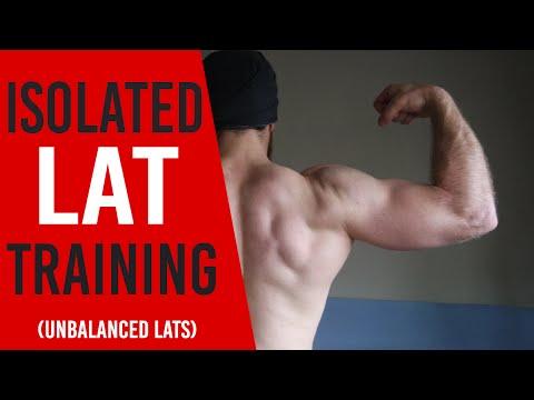 Isolated Lat training (unbalanced lats)