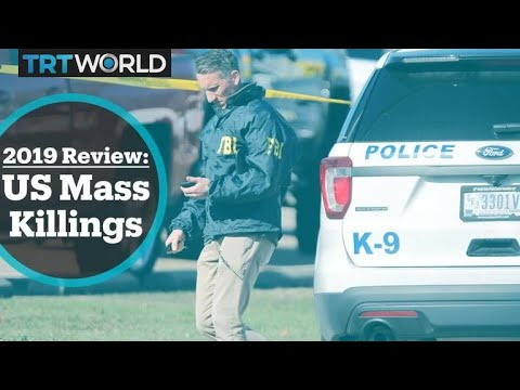 Mass Shootings In The US Hit A Record High In 2019