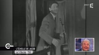 Pierre Perret hilare devant sa première télévision- C à vous - 14/05/2015