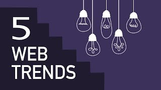 5 Trends That Will Shape Website Development In The Next 5 Years