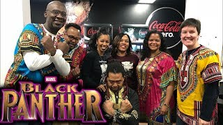 BLACK PANTHER MOVIE REVIEW:  (BEFORE AND AFTER THOUGHTS) (NON SPOILER)