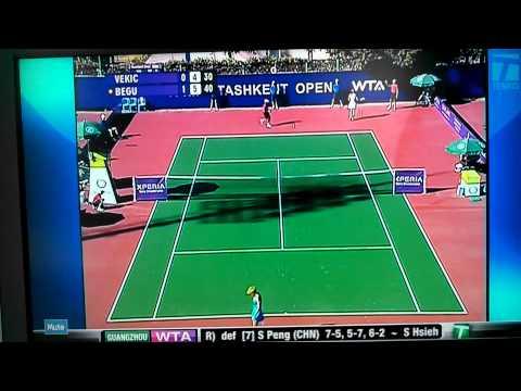 Vekic vs Begu Tashkent open 2012