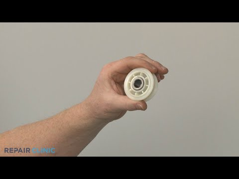 Dryer Idler Pulley Replacement - Electric Washer/Dryer Combo (Model #WET4027EW0)